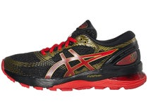 save off 6b2aa 06142 ASICS Gel Nimbus 21 Mugen Black Red