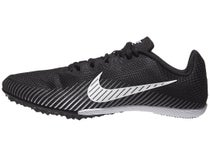 0e364fbc Nike Zoom Rival M 9 Men's Spikes Black/White/Dark Grey