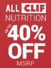 Clif Nutrition Sale