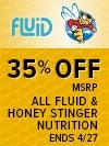 Fluid Honey Stinger Promo 4-10