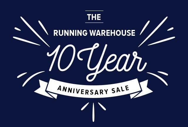 Running Warehouse Birthday Sale