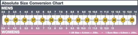 Click Here For Sizing Conversion Chart