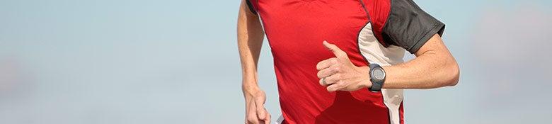 Men's Running Accesories Banner