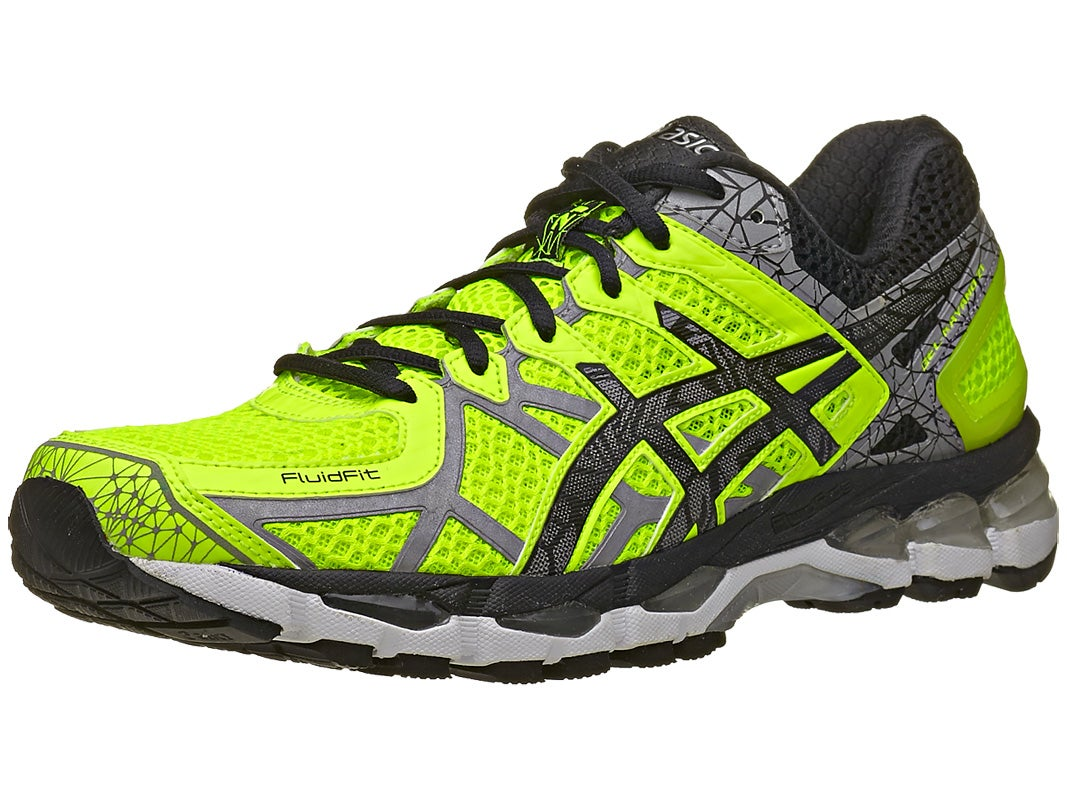 asics gel kayano 21 lite show men 39 s shoe yellow lite bk. Black Bedroom Furniture Sets. Home Design Ideas
