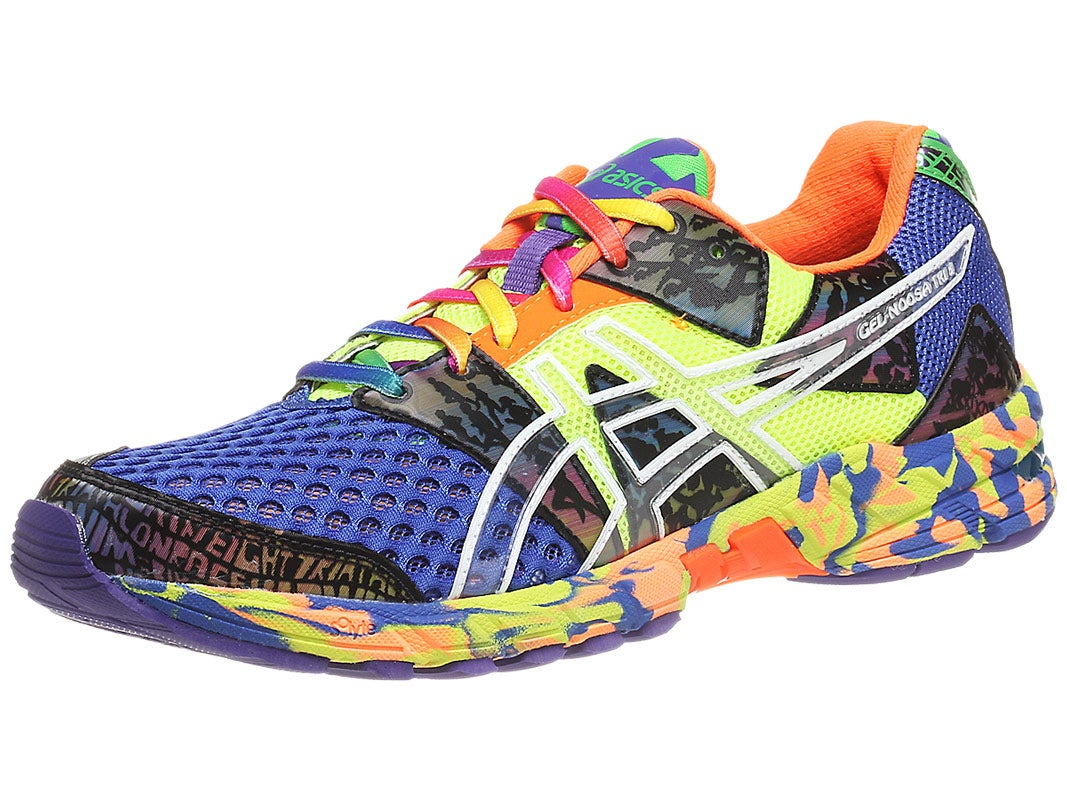 mens asics gel-noosa tri 8 running shoes black/multi
