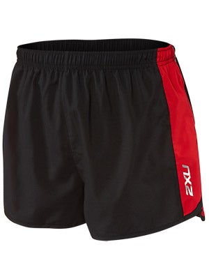 2XU Men's Training Run Short Black/Red