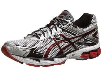 Asics GT 1000 2 Men's Shoes White/Maroon/Lightning