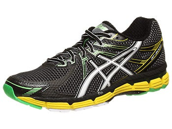 Asics GT 2000 Men's Shoes Black/White/Yellow