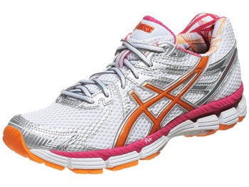 Asics GT 2000 Women's Shoes Wht/Orange/Fuschia