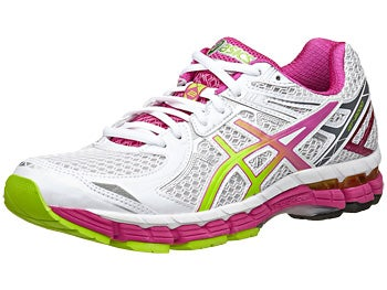 ASICS GT 2000 2 Women's Shoes White/Lime/Raspberry