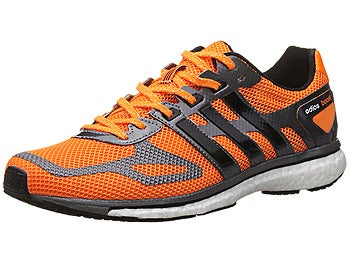 adidas adizero adios Boost Men's Shoes Zest/Black