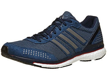 adidas adizero adios Boost 2 Men's Shoes VisBlue/Navy