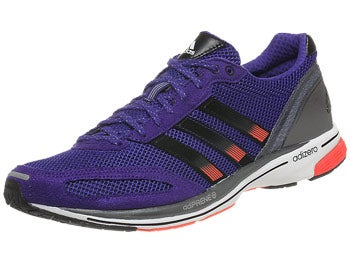 adidas adizero adios 2 Men's Shoes Purple/Black