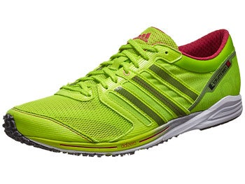 adidas adizero Takumi Sen 2 Men's Shoes White/Zest