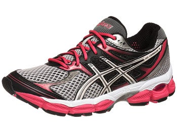 ASICS Gel Cumulus 14 Women's Shoes Blk/Wht/Berry
