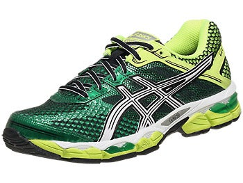 Asics Gel Cumulus 15 Men's Shoes Pine/White/Yellow
