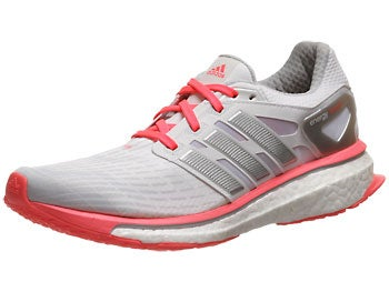 adidas Energy Boost Women's Shoes White/Silver/Red