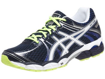 ASICS Gel Flux Men's Shoes Navy/White/Yellow