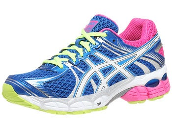 ASICS Gel Flux Women's Shoes Blue/White/Hot Pink