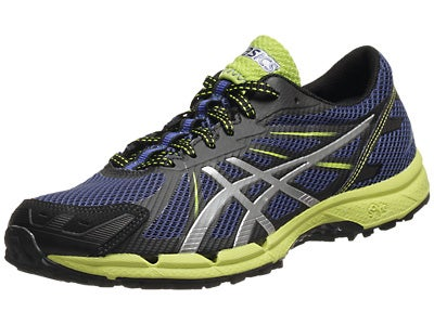 Asics Gel Fuji Racer 3 Men's Shoes Navy/Silver/Lime