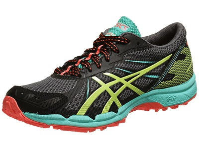 Asics Gel Fuji Racer 3 Women's Shoes Charc/Green/Coral