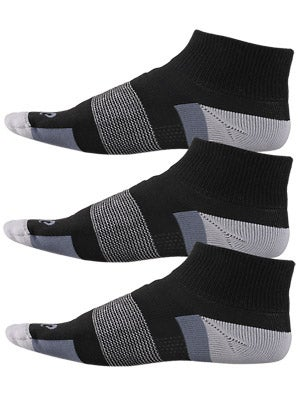 ASICS Intensity Quarter Socks 3-Pack