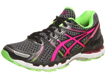ASICS Gel Kayano 19 Women's Shoes Blk/Pink/Apple