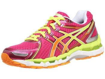 Asics Gel Kayano 19 Women's Shoes Rasp/Mango/Lime