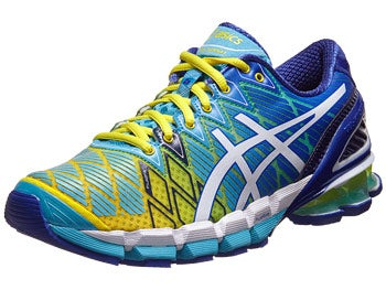 ASICS Gel Kinsei 5 Women's Shoes Yellow/White/Turquoise
