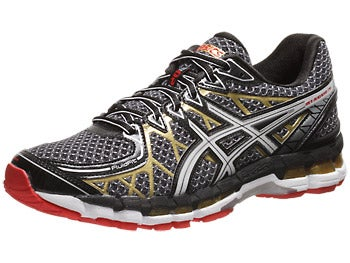 Asics Gel Kayano 20 Men's Shoes Black/White/Gold