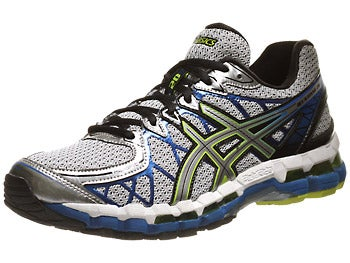 Asics Gel Kayano 20 Men's Shoes Lightning/Silver/Royal