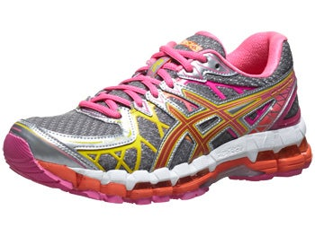 ASICS Gel Kayano 20 Women's Shoes Lightning/Pink/Flame