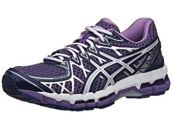ASICS Gel Kayano 20 Women's Shoes Purple/White/Lav