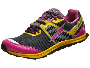 Altra Superior 1.5 Women's Shoes Black/Lemon/Pink