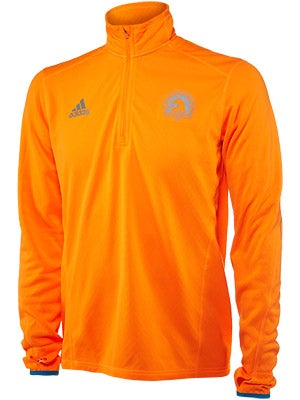 adidas Men's Boston Marathon Sequencials Half Zip