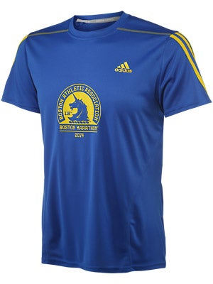 adidas Men's Boston Marathon Graphic Tech Tee