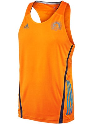 adidas Men's Boston Marathon Adizero Singlet