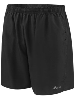 ASICS Men's Core Pocketed Short Black & Steel