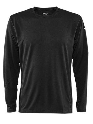 Asics Men's Core Long Sleeve Black & White