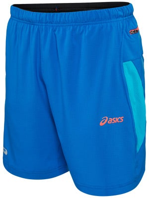 ASICS Men's Fuji 2-N-1 Short Speed Blue