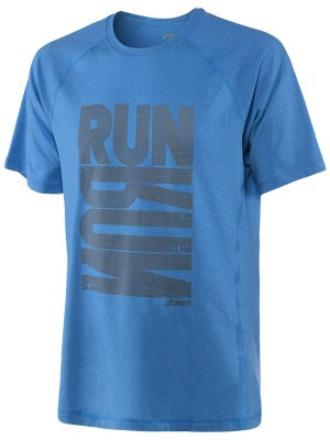 ASICS Men's Run-Run Tech Tee