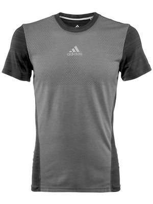 adidas Men's Sequencials Heathered Short Sleeve Tee