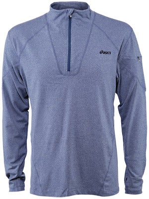 Asics Men's Thermopolis LT 1/2 Zip Heather