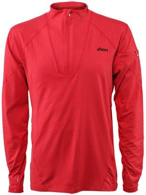 Asics Men's Thermopolis LT 1/2 Zip Embossed
