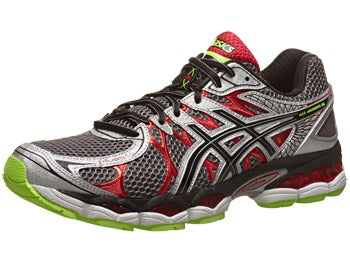ASICS Gel Nimbus 16 Men's Shoes Titanium/Black/Red