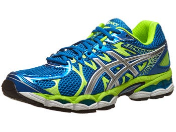 ASICS Gel Nimbus 16 Men's Shoes Blue/Lightning/Lime