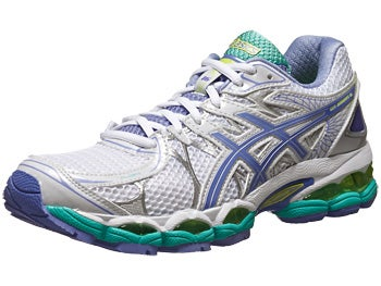 ASICS Gel Nimbus 16 Women's Shoes Wh/Peri/Mint