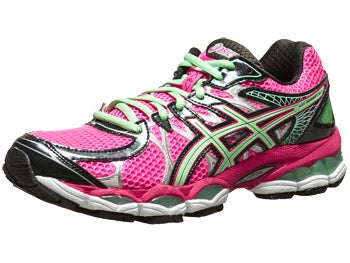 ASICS Gel Nimbus 16 Women's Shoes Pink/Green/Black