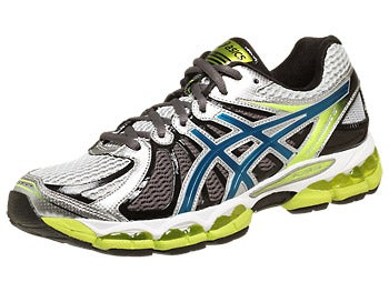 Asics Gel Nimbus 15 Men's Shoes Lightning/Blue/Lime