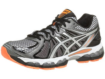 Asics Gel Nimbus 15 Men's Shoes Storm/Black/Orange